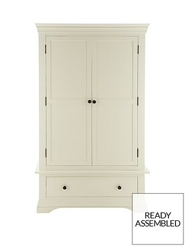 ideal-home-constance-ready-assembled-oak-2-door-1-drawer-wardrobe