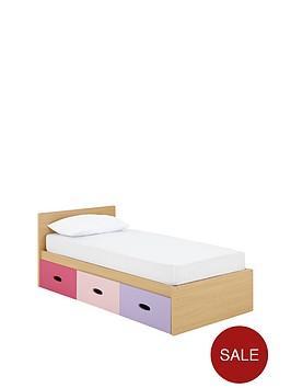 ladybird-harley-kids-single-storage-bed-with-optional-mattress