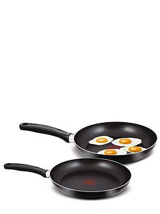 tefal-2-piece-24cm-and-28cm-frying-pan-set-black