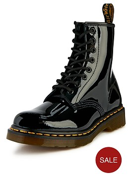 dr-martens-8-eyelet-leather-ankle-boots-black-patent