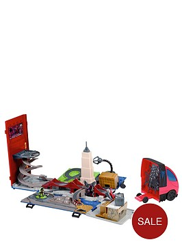 spiderman-truck-playset