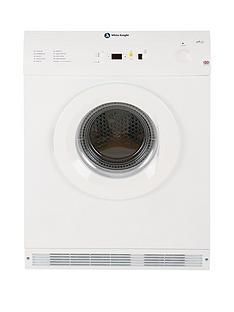 white-knight-c86a7w-7kg-load-vented-sensor-tumble-dryer-white