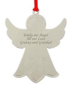 personalised-angel-christmas-tree-decoration