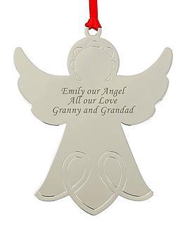 personalised-angel-christmas-tree-decoration