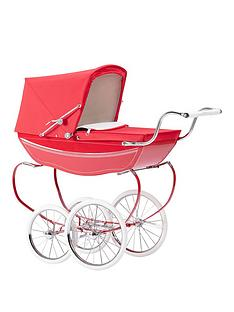 silver-cross-oberon-poppy-red-dolls-pram