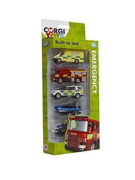 corgi-die-cast-emergency-services-5-pack