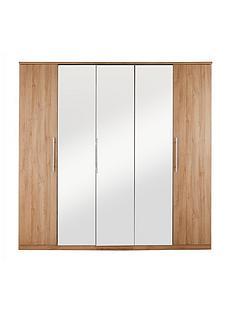 prague-5-door-mirrored-wardrobe