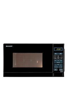 sharp-r272km-solo-800-watt-microwave-black