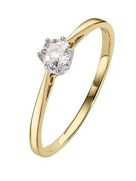 love-diamond-9-carat-yellow-gold-25pt-certified-diamond-solitaire-ring