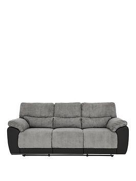 sienna-fabricfauxnbspleather-3-seaternbsprecliner-sofa