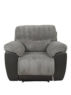 sienna-fabricfaux-leather-recliner-armchair