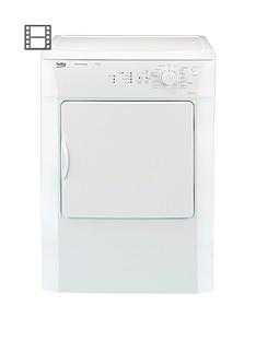beko-drvs73w-7kg-load-vented-sensor-tumble-dryer-whitenbsp