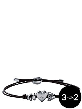 fossil-vintage-leather-heart-bracelet