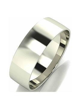 love-gold-9-carat-white-gold-court-wedding-band-6-mm