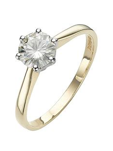 moissanite-1-carat-solitare-9-carat-yellow-gold-ring