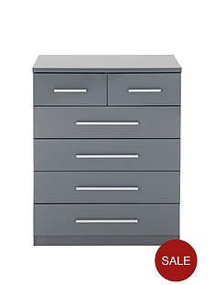 prague-high-gloss-4-2-drawer-chest