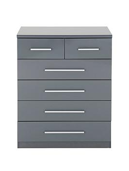 prague-gloss-4-2-drawer-chest