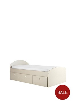kidspace-nova-single-bed-with-storage-drawers-and-optional-mattress