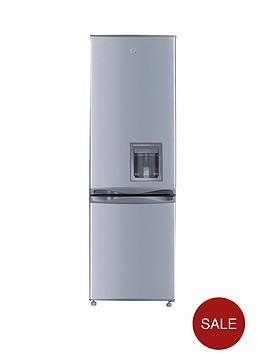swan-sr5330s-55cm-fridge-freezer-with-water-dispenser-silvernbsp