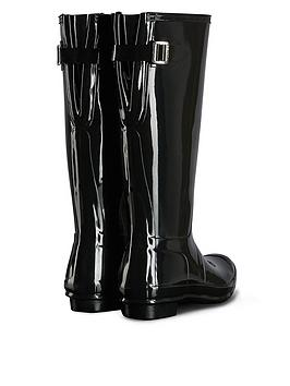 Hunter Gloss Adjustable Back Wellies Knock Off Cheap Fast Delivery Cheap Sale Low Shipping Largest Supplier Cheap Online Cheap Explore aw2UKyWKz