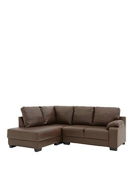 dino-faux-leather-compact-left-hand-corner-chaise-sofa