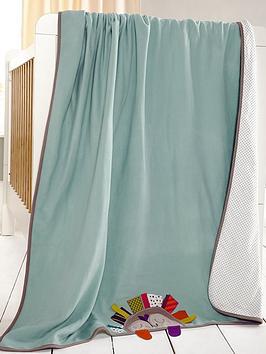 mamas-papas-timbuktales-embroidered-fleece-blanket