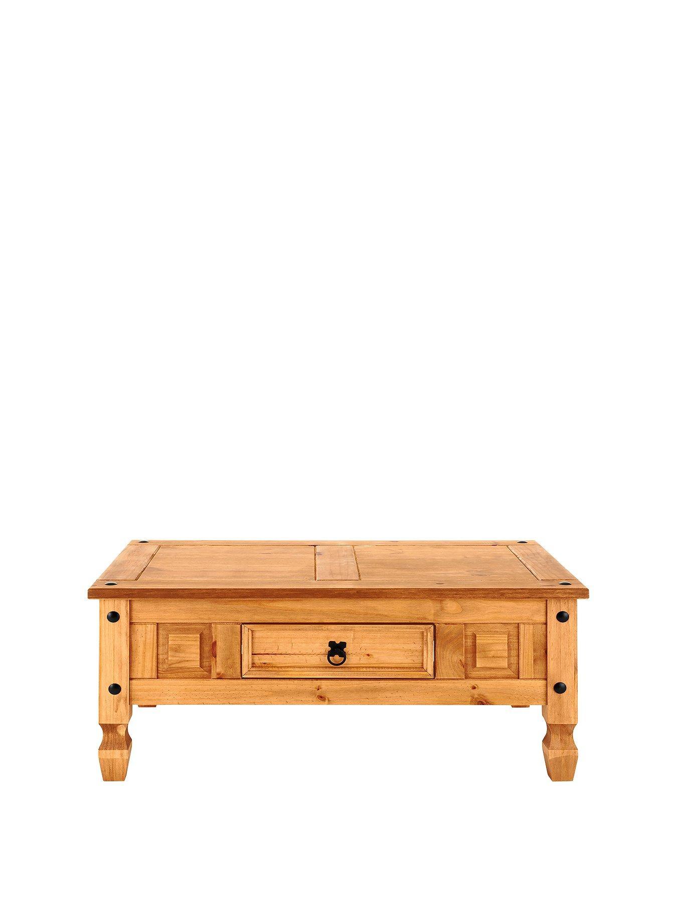 Corona Solid Pine Coffee Table littlewoodsirelandie