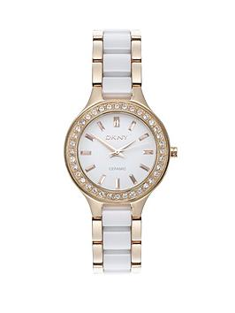 dkny-chambers-rose-gold-tone-and-white-ceramic-ladies-watch
