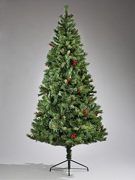 mix-pine-cone-and-red-berries-christmas-tree-6ft