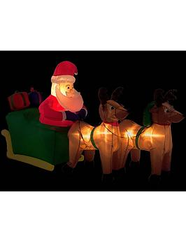 8ft-inflatable-santa-sleigh-and-reindeer