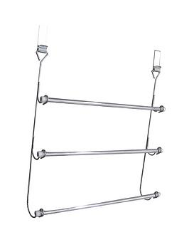 sabichi-chrome-plated-over-door-3-tier-towel-rail