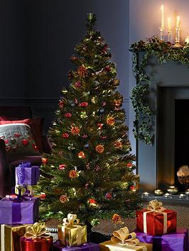 5ft-fibre-optic-christmas-tree-with-cones-and-berries