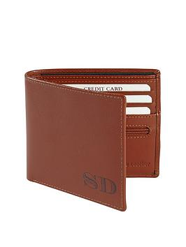 personalised-leather-wallet-tan