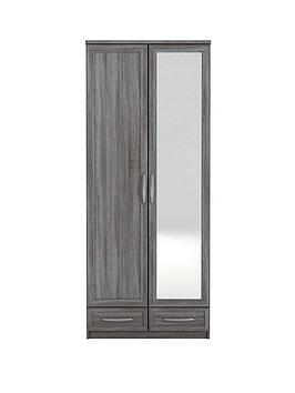texas-2-door-2-drawer-mirrored-wardrobe
