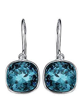 elements-indicolite-swarovski-crystal-drop-earrings