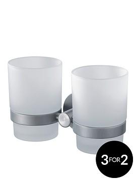 aqualux-haceka-kosmos-double-glass-beaker-and-chrome-holder
