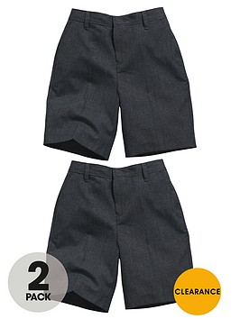 top-class-boys-teflon-coated-flat-front-school-shorts-2-pack