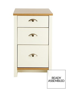 consort-tivoli-ready-assembled-3-drawer-graduated-bedside-chest-5-day-express-delivery