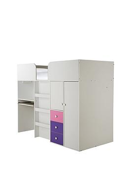 kidspace-new-metro-mid-sleeper-bed-with-built-in-desk-and-storage
