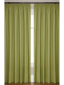 canvas-lightweightnbsp3innbsppencil-pleated-unlined-curtains