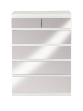 prague-4-2-chest-of-drawers-with-mirrored-drawer-fronts