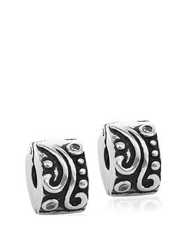 the-love-silver-collection-set-of-2-sterling-silver-stopper-charms