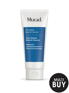 murad-anti-ageing-time-release-blemish-cleanser-200ml-amp-free-murad-hydrating-heroes-set