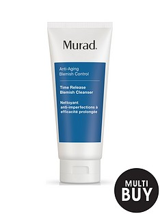 murad-free-gift-anti-ageing-time-release-blemish-cleanser-200mlnbspamp-free-murad-skincare-set-worth-over-pound55