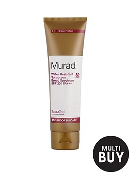 murad-free-gift-water-resistant-sunscreen-broad-spectrum-spf-30--nbsp125mlnbspamp-free-murad-age-reform-exfoliating-cleanser-200ml