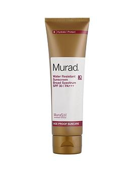 murad-water-resistant-sunscreen-broad-spectrum-spf-30--nbsp125mlnbspamp-free-murad-peel-polish-amp-plump-gift-set