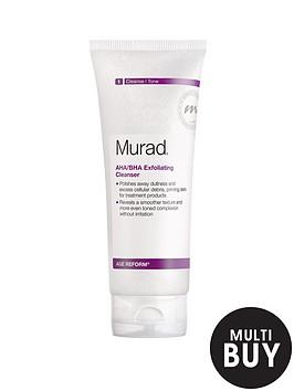 murad-age-reform-ahabha-exfoliating-cleanser-200ml-amp-free-murad-hydrating-heroes-set