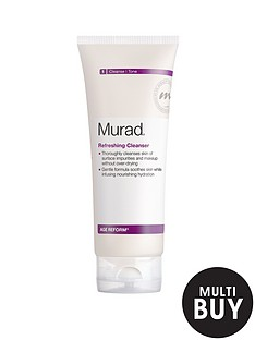 murad-free-gift-age-reform-refreshing-cleanser-200mlnbspamp-free-murad-age-reform-exfoliating-cleanser-200ml