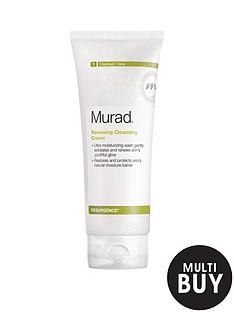 murad-free-gift-resurgence-renewing-cleansing-cream-200mlnbspamp-free-murad-age-reform-exfoliating-cleanser-200ml