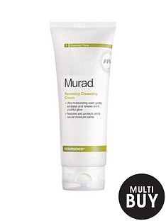 murad-free-gift-resurgence-renewing-cleansing-cream-200mlnbspamp-free-murad-skincare-set-worth-over-euro6999